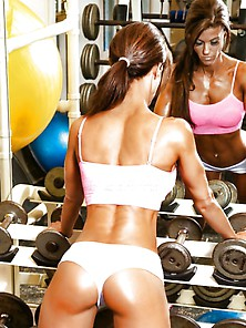 Hot Gym Girls...  Comments Please ! Any Favorites ?!