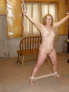 My Mature Slave Wife Tied In Many Ways