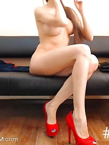 Hot Naughty Teen With A Great Body Teasing
