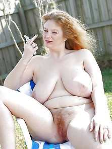 Bbw Mom With Giant Saggy Boobs Shaving Hairy Cunt