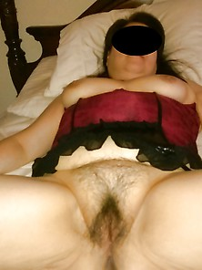 Mature Asian Wife Spreading