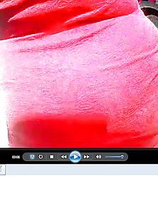 Encoxada Culona Vestido Rojo