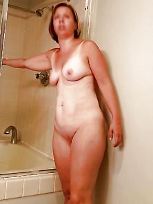 Sexy Milf Caught In Shower