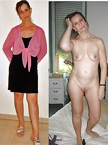 Mature Wives Dressed/undressed