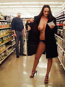 Ladies Flashing Tits In Public !!! Love Them All !!