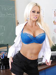 Nikita Von James Decides To Get Saucy And Fuck On Her Teacher De