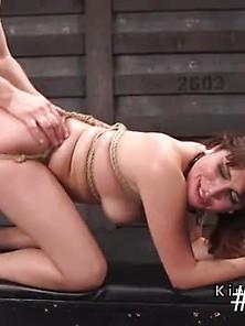 Busty Petite Slave Gets Extreme Bdsm Training