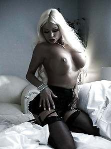 Stunning Nikita Von James Posing