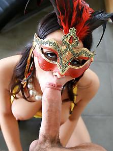 Masked Valentina Nappi Fucks Friendu2019S Husband