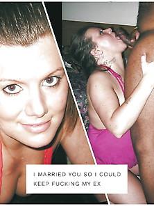 Dressed Undressed Interracial Cuckold Hotwife Queen Spades