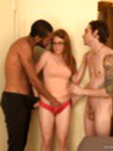 Hot Big Tits Teen Cuckold With Stranger