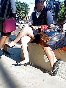 Universitarias Voyeur Mexicanas 40