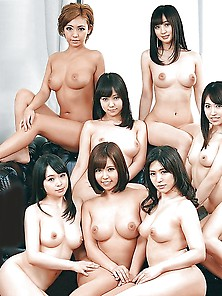 Naked Girl Groups 138 - Random Asian Groups