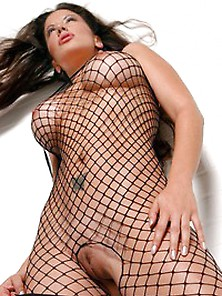 Viviana Fishnet Body Suit