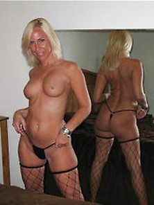 Hotwife In Fishnets