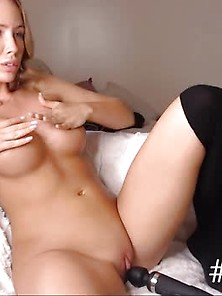 Yummy Shaved Masturbate With A Hitachi