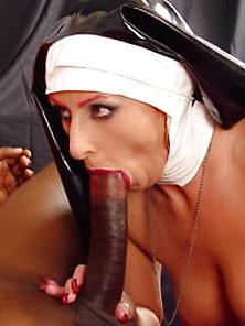 Blowjob nun Nun