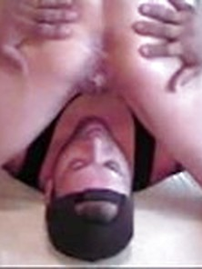 Wife Dripping Lover's Cum Into Cuckold Hubby's Mouth - Myhotwife