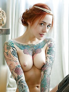 Tattoos And Freckles