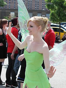 Fairy With Small Tits
