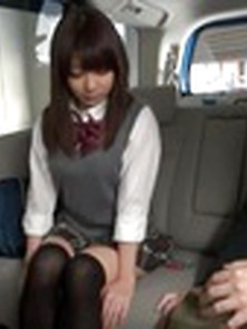 Super-Naughty Asian Female Arisu Hayase In Astounding Automobile