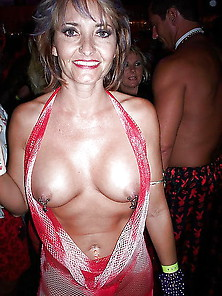 All Pierced Nipples Hides A Whore (Milf Version)