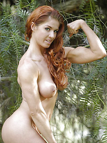 Nude Muscle Women | Fresh Muscled Redhead Free Muscle Woman Pics